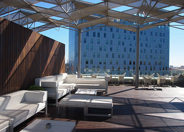 hotel The Gates Diagonal Barcelona terrazza