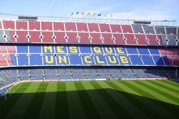 camp nou stadio weekend sport a Barcellona