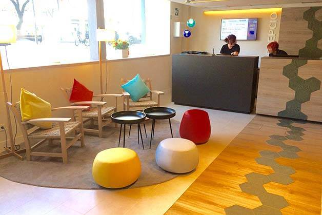 hotel ibis style centre Barcellona reception e ingresso