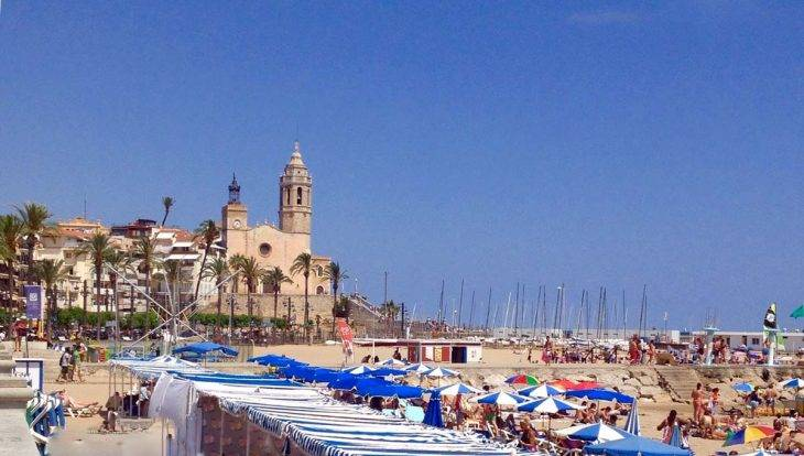 sitges spiaggia