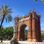 visita guidata in bici arc de triomf