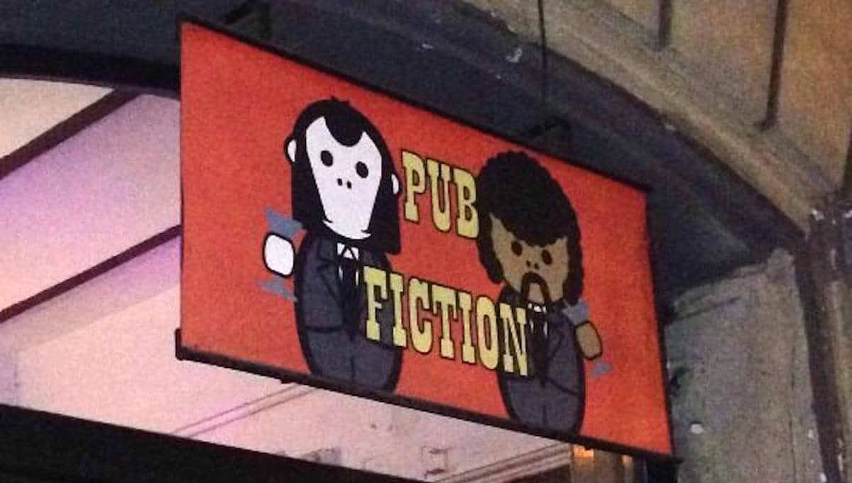 migliori bar pub fiction